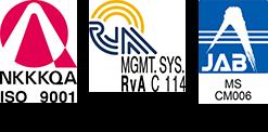 ISO 9001 : 2015認証取得